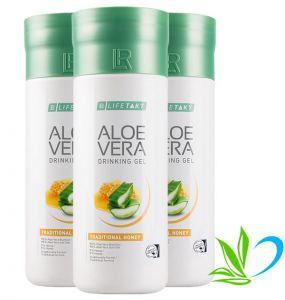 LR Aloe Vera Drinking Gel Traditional Honey - aloes do picia z miodem 3pak