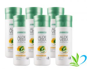 LR Aloe Vera Drinking Gel Traditional Honey - aloes do picia z miodem 6pak