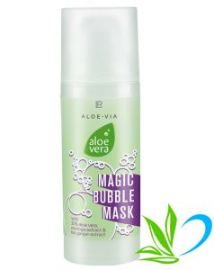 Aloe Vera Maseczka bąbelkowa Magic Bubble Mask